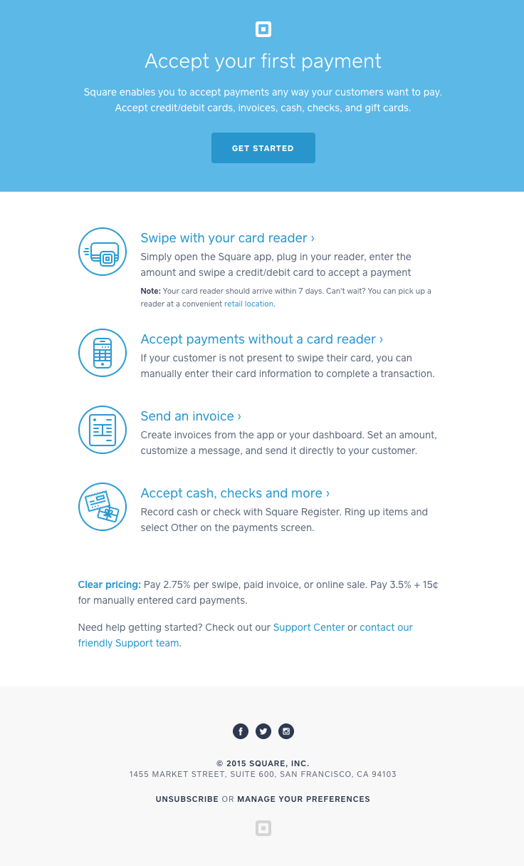 Pin By Really Good Emails On App Emails Pinterest Square - Create invoice with square