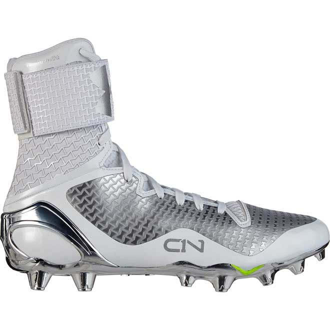 e285761f3e51 All White Football Cleats, Cam Newton Football Cleats, Cam Newton Cleats,  Youth Football