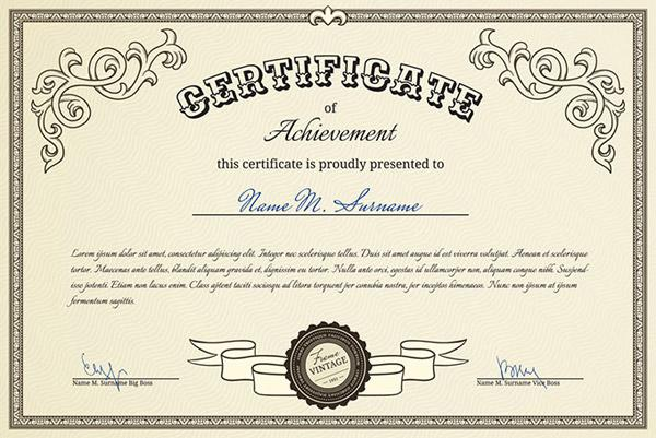Certificate Of Authorization Template (1