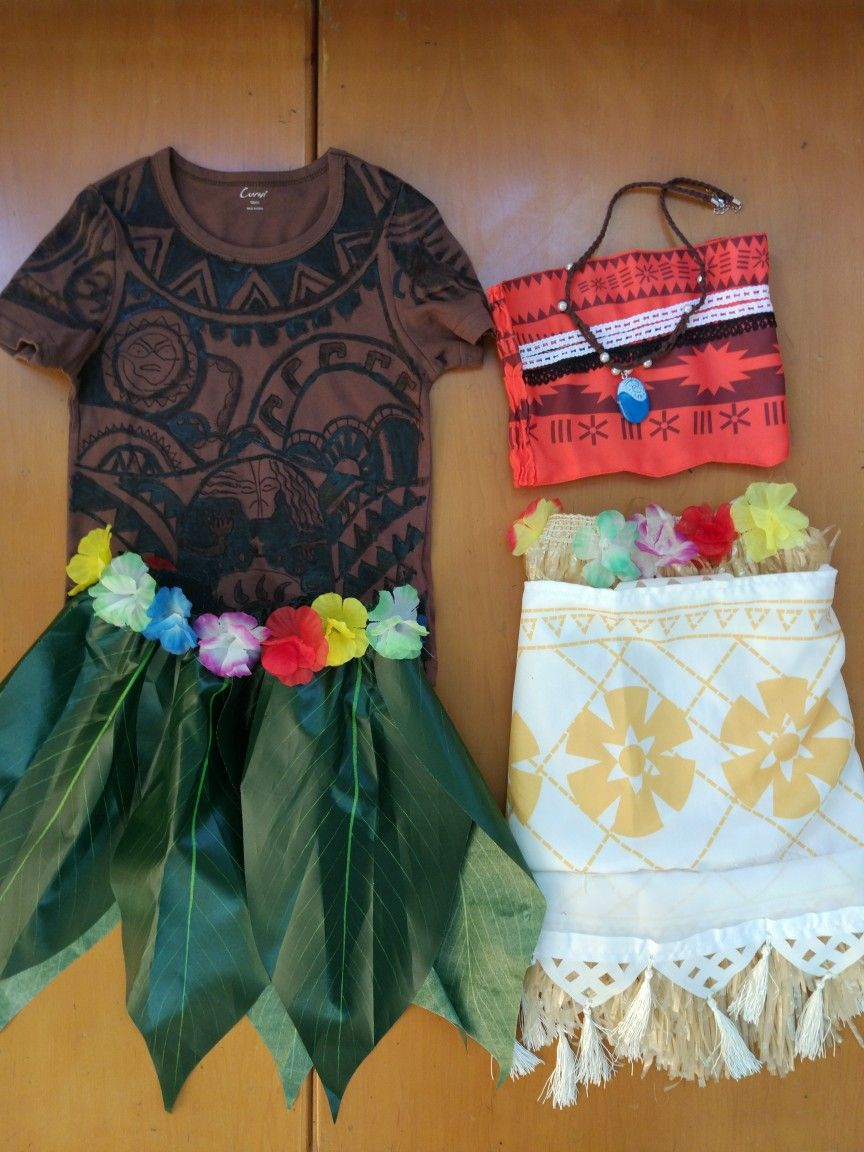 Moana and maui costume halloween ideas pinterest - Fiesta de disfraces ideas ...
