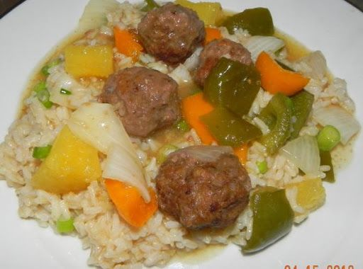 Sweet and Sour Meatballs Recipe on Yummly. @yummly #recipe