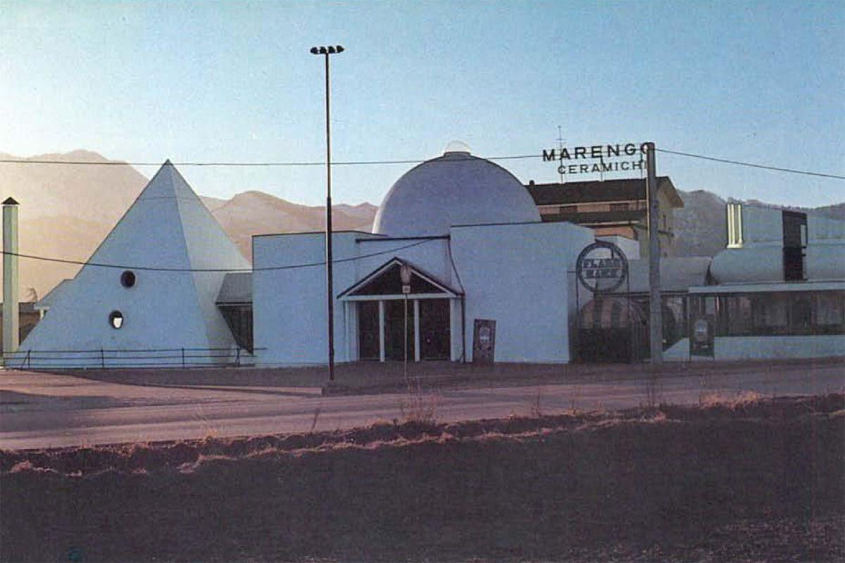 Studi Di Architettura Cuneo 1972 discoteca e centro commerciale a cuneo / studio65