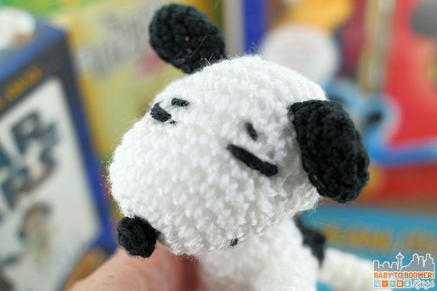 Snoopy Amigurumi Crochet Kit | Stitch & Story - Stitch & Story | 600x900