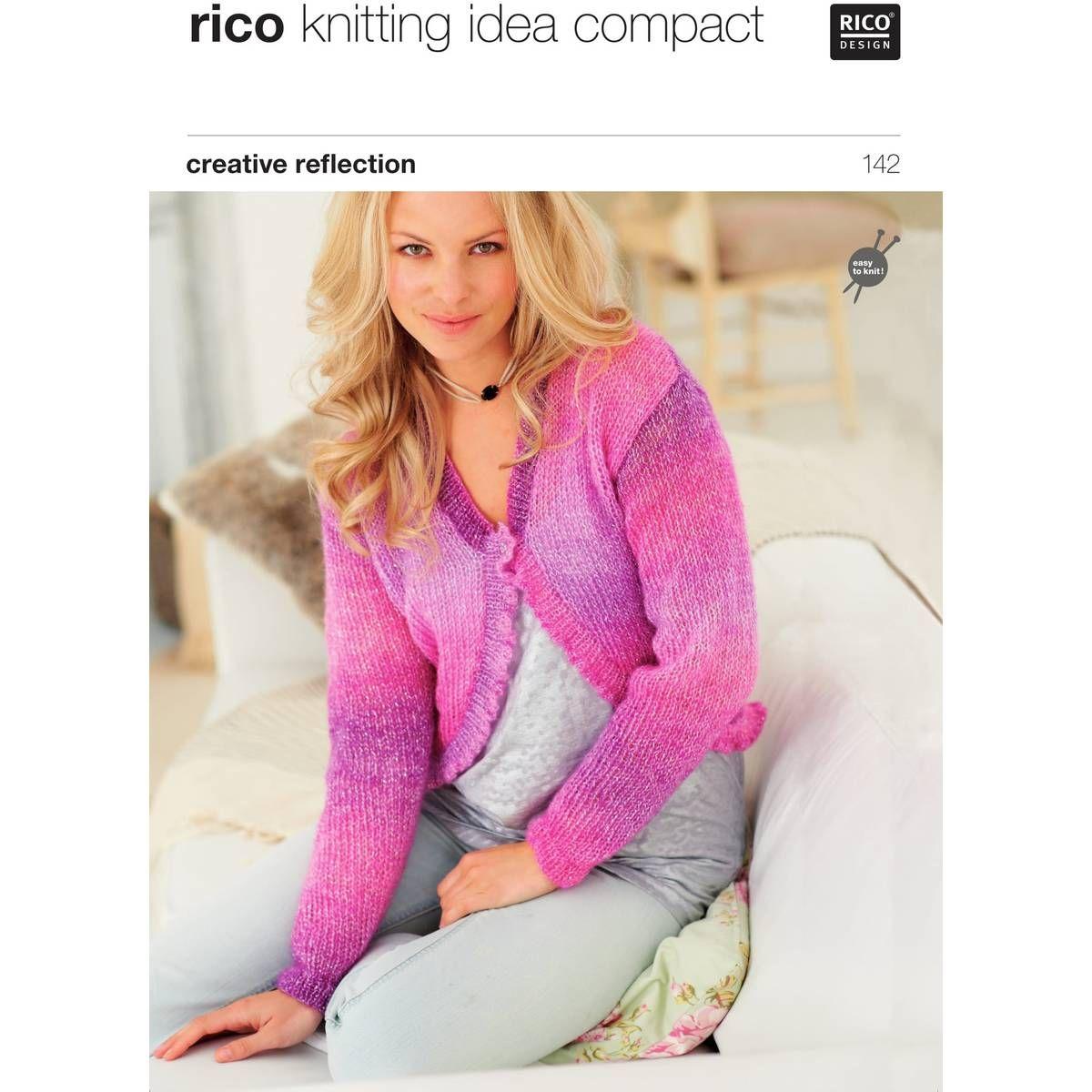 Rico Creative Reflection Ladies\' Cardigans Digital Pattern 142 ...