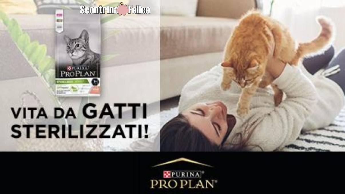 Partecipa al sondaggio Purina PRO PLAN Sterilized e partecipa all'estrazione finale di 400 sample da 100gr di Pro Plan Cat! Ecco come partecipare