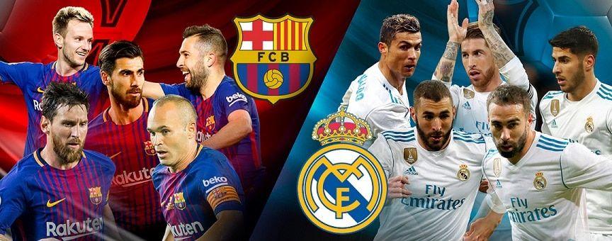 نتيجة مباراة برشلونة وريال مدريد اليوم الأحد 6 5 2018 في كلاسيكو الدوري الأسباني ونهاية اللقاء Sports