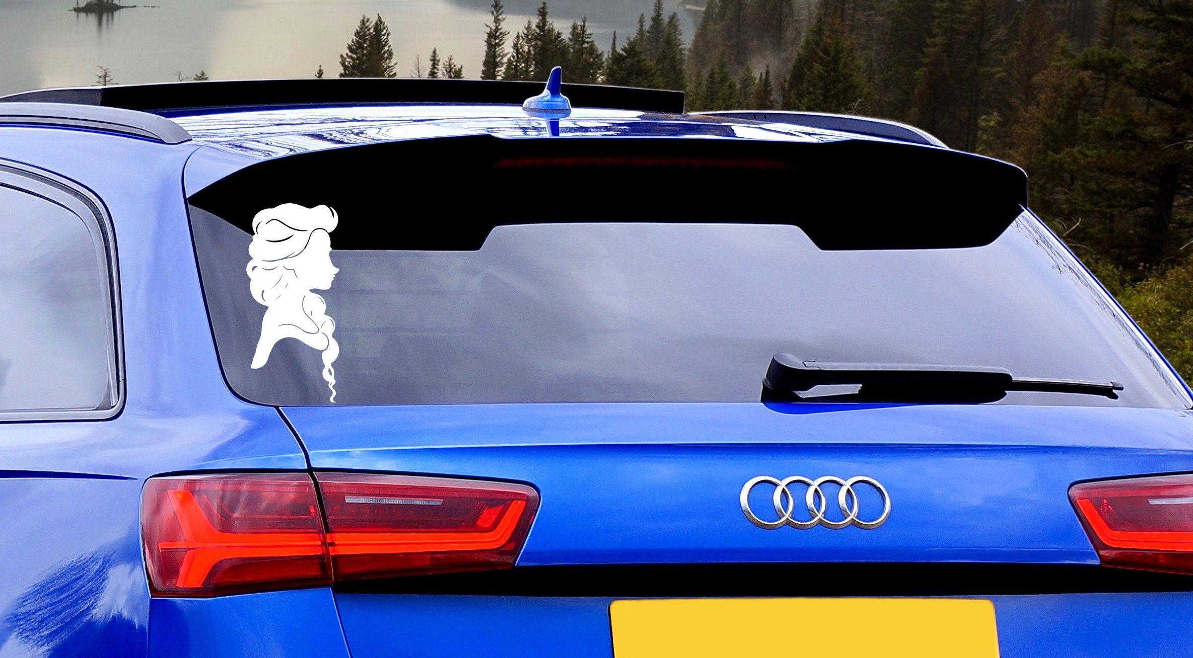 Elsa Inspired Car Decal Frozen Car Window Sticker Car Decal Stickers Window Decal Car Decals Car Decals Stickers Car Window Stickers [ 960 x 1280 Pixel ]