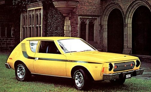 Amc Gremlin X 1972 Bought It New York Taxicab Yellow Gas Tank On Wheels