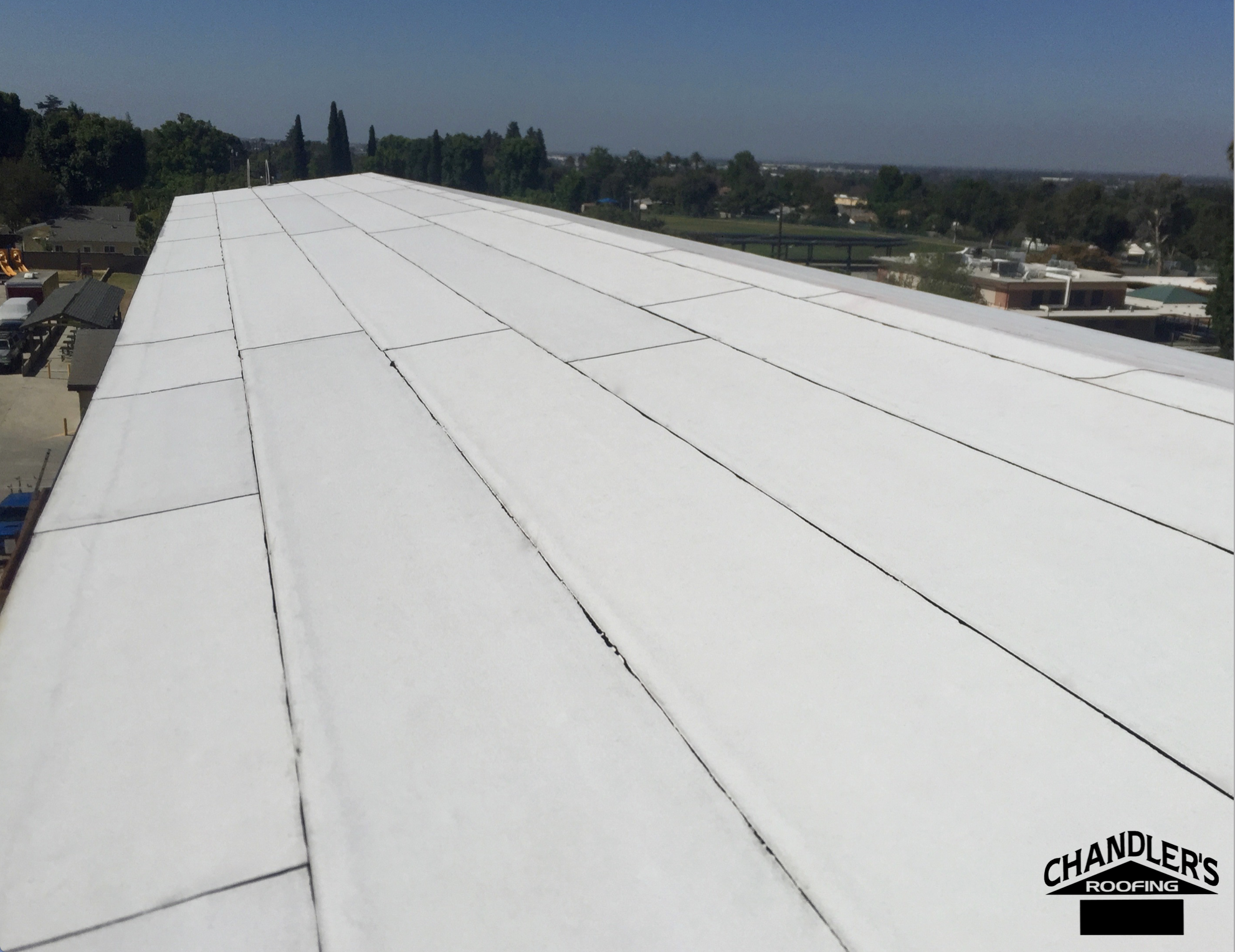 Www Chandlersroofing Com Ruberoid Energycap Torch Granule Fr Modified Bitumen Gaf Roof Installed In Whi Roof Installation Commercial Roofing Roofing Systems