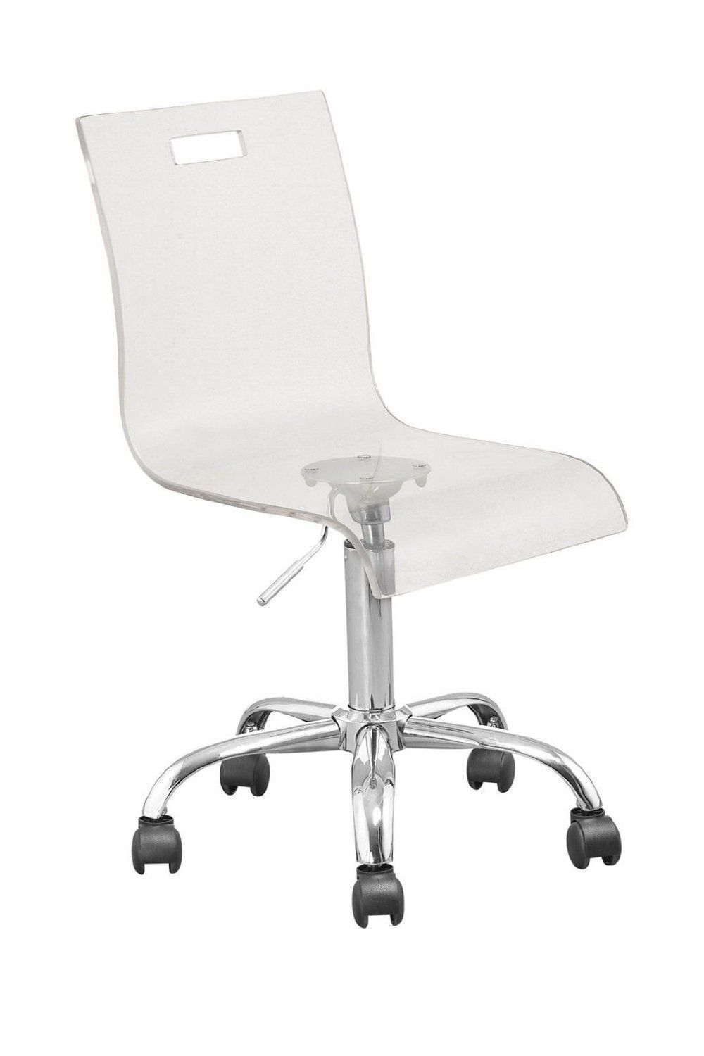 Acrylic Rolling Office Chair Real Wood Home Furniture Check More At Http