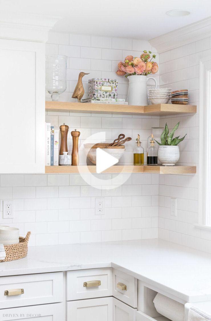 Diy Kleine Keuken Decorating Design Ideas Interior Design Kitchen Contemporary Kitchen Open Kitchen Shelves