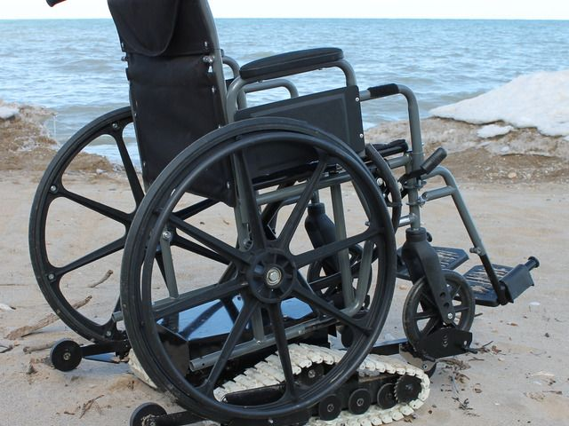 Freedom Trax Powered Track Device For Wheelchairs By Dan