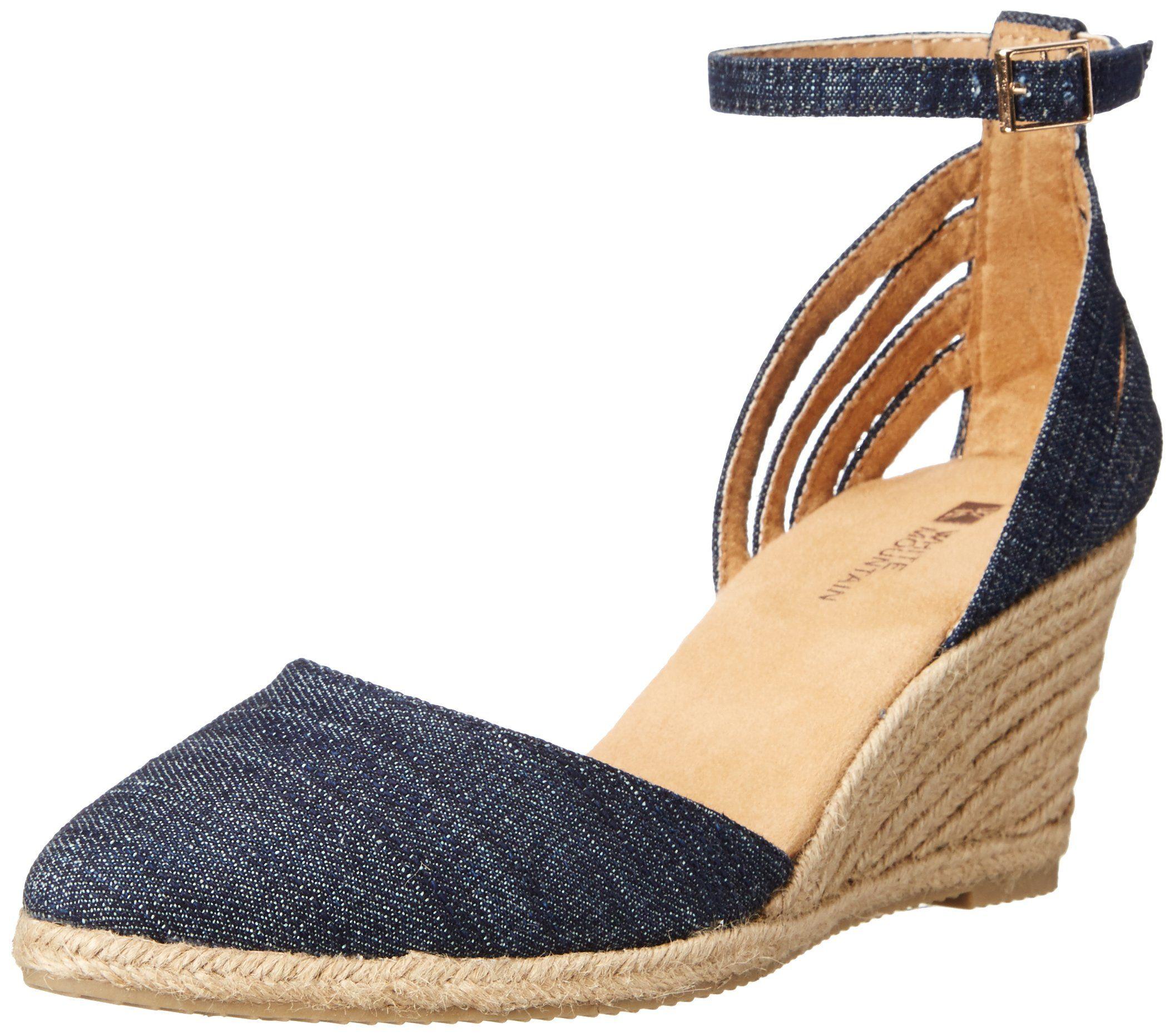 53b1ae58e5f4f Amazon.com: White Mountain Women's Cisco Espadrille Sandal: Clothing ...