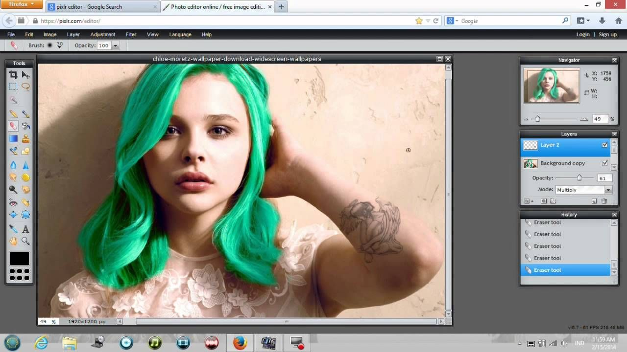 How To Make A Punk Edit On Pixlr With Images Pixlr Tutorial