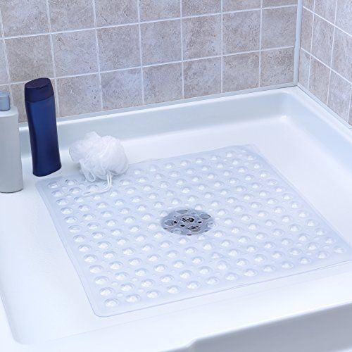 Slipx Solutions Clear Square Shower Stall Mat Adds Non Sl Https