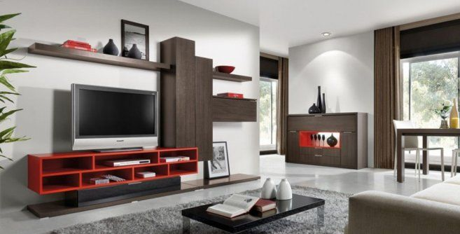 Modern Tv Unit Design For Living Room Google Search Tv Unit Pinterest
