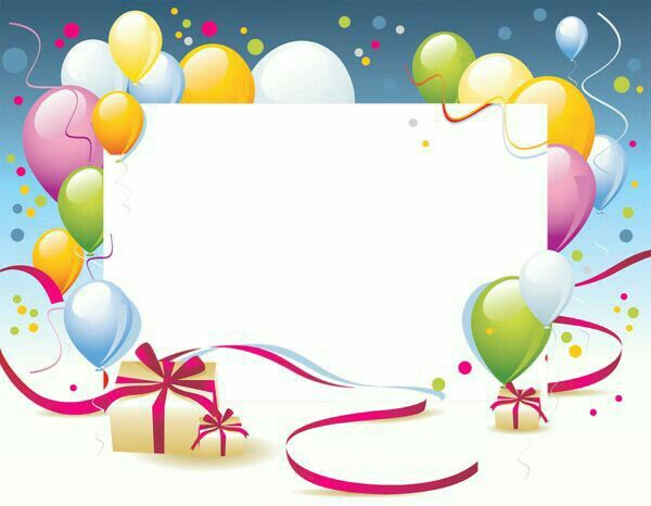 Pin by ✿Naz YILMAZ✿ on Renkli Çerçeveler Pinterest Birthday - happy birthday cards templates