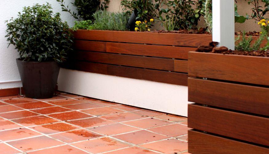 jardin de diseño en atico 01 diseño de jardín & huerto urbano para
