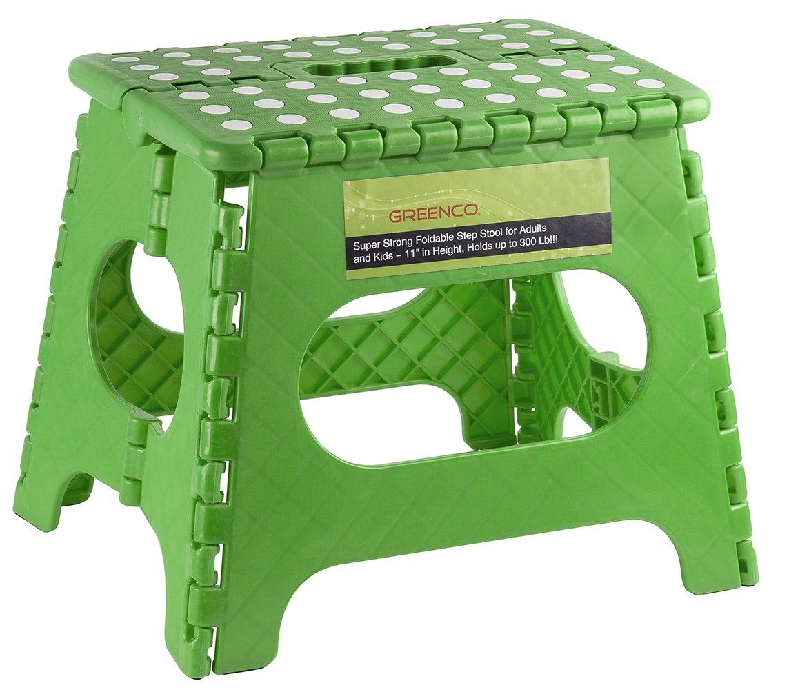 Foldable Step Stool For Adults And Kids 11 Quot In Height