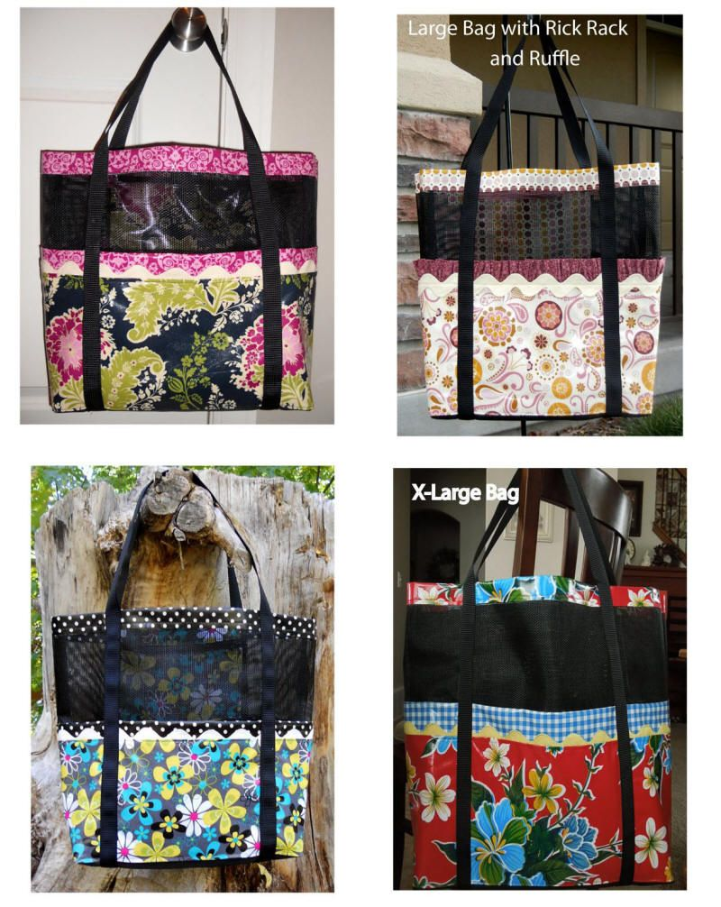 Mesh tote bag pattern quilt patterns for totes purses and bags mesh tote bag pattern quilt patterns for totes purses and bags jeuxipadfo Image collections