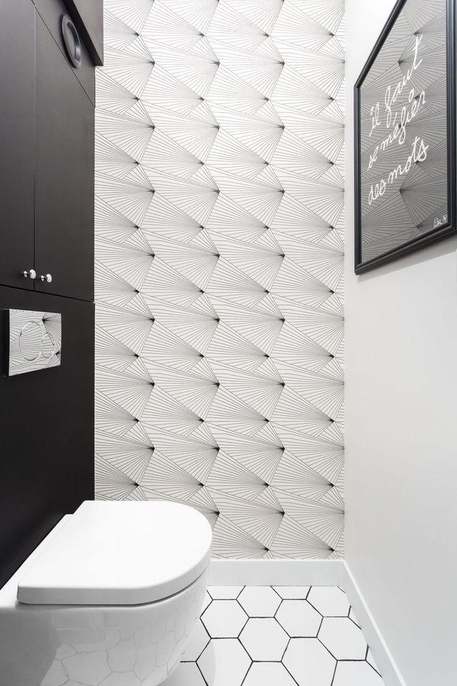 WC : idées déco pour toilettes originales | Small rooms, Lofts and Bath