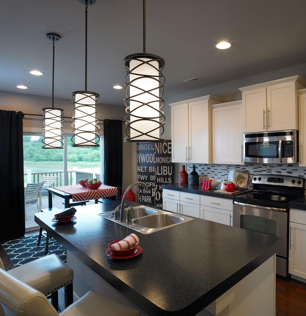 Teton Craftsman C2 Floor Plan  Kitchen  The Orchard  Evansville Extraordinary Kitchen Model Design Review