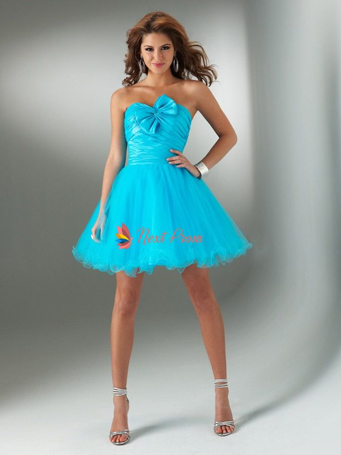 Turquoise Cocktail Dresses - Qi Dress