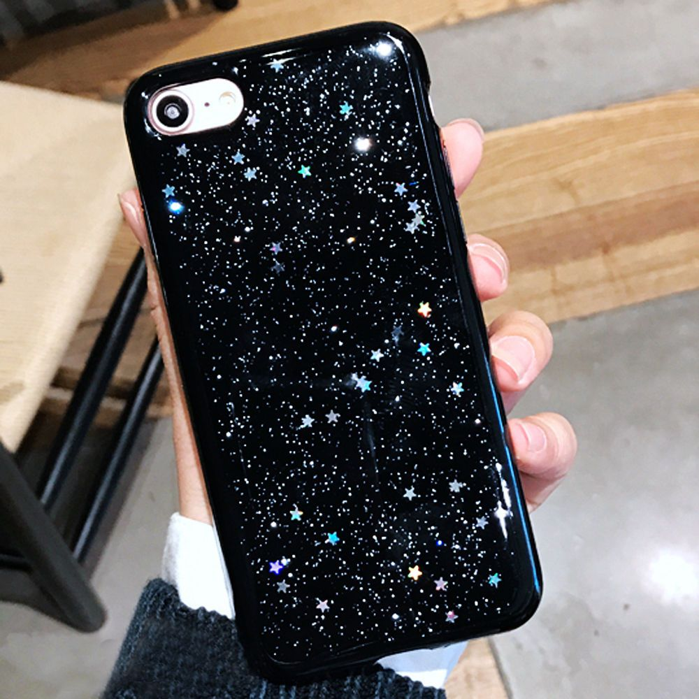 For Iphone 6s 7 Plus Case Glossy Thin Glitter Bling Silicone Rubber Phone Cover Diy Phone Case Apple Phone Case Diy Iphone Case