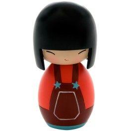 Momiji Poupée Soul.  Les Momiji sont des poupées porteuses de messages. A l'intérieur vous pouvez glisser, sur un petit bout de papier, un voeu, un souhait, un mot, une phrase... Les Momiji sont dessinées par des designers et des créatifs du monde entier. Chaque poupée est peinte à la main.   Créatrice : Luli Bunny www.laboutiquedubienetre.fr