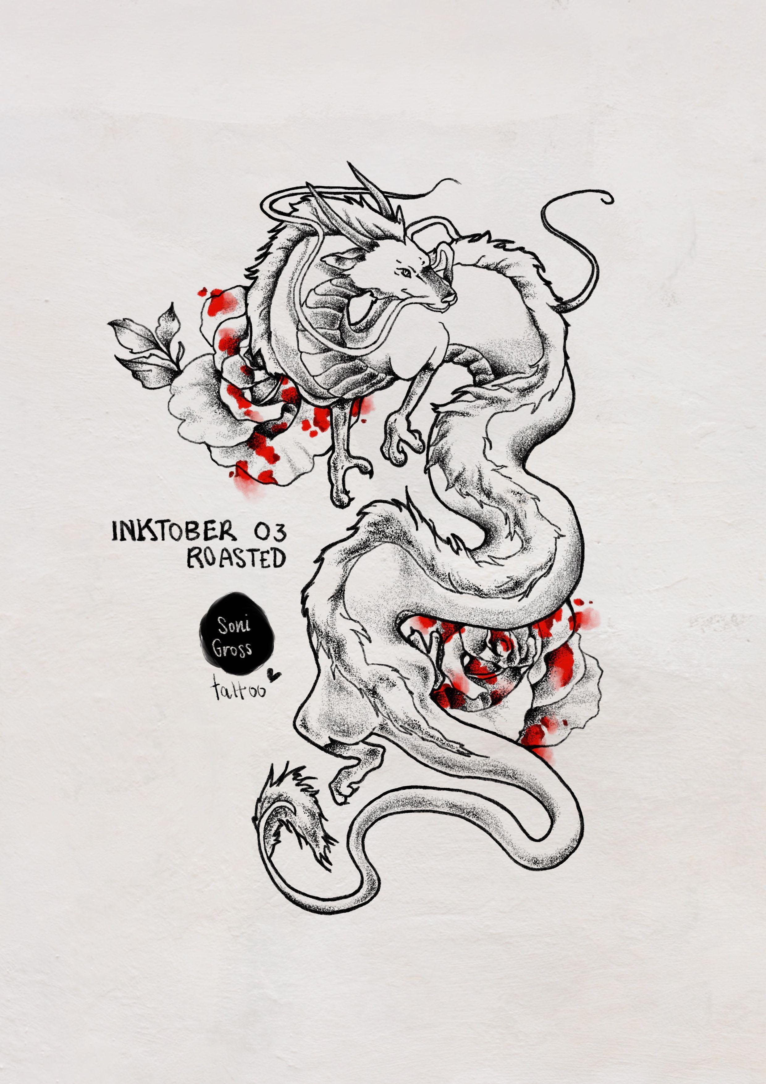 Chihiro Tattoo Proposal For Inktober 2018 By Sonigross Tattoo Haku Tattoo Ghibli Tattoo Spirited Away Ghibli Tattoo Dragon Tattoo Designs Spirited Away Tattoo