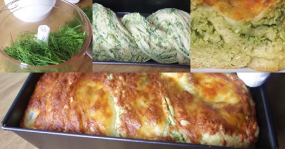 Ciasto czosnkowe z ziołami i serem. Nikt nie oprze się