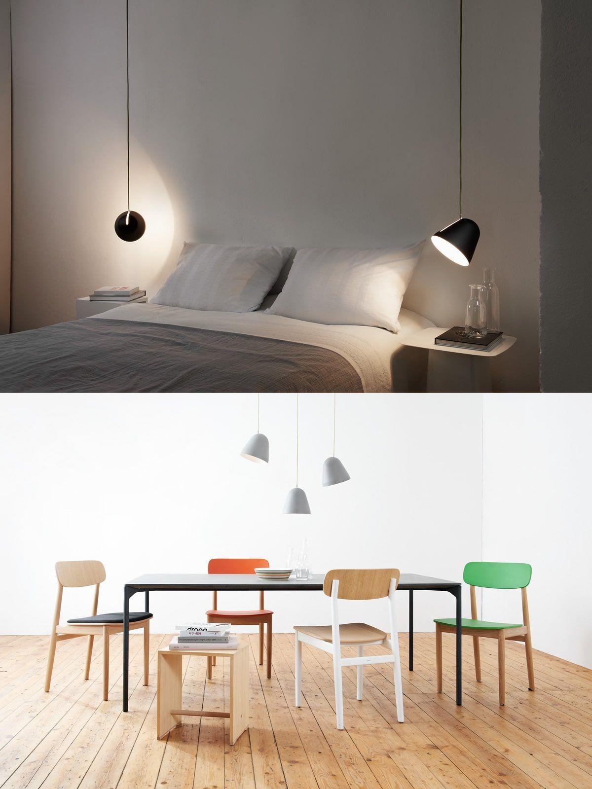 Wunderbar Designer Wandleuchten Foto Von Nyta Tilt Hängeleuchten Im Raum