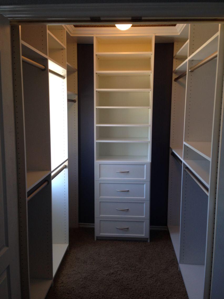 Our New Master Closet 6 X 6 Small Master Closet Closet Remodel Closet Layout Master Closet Design