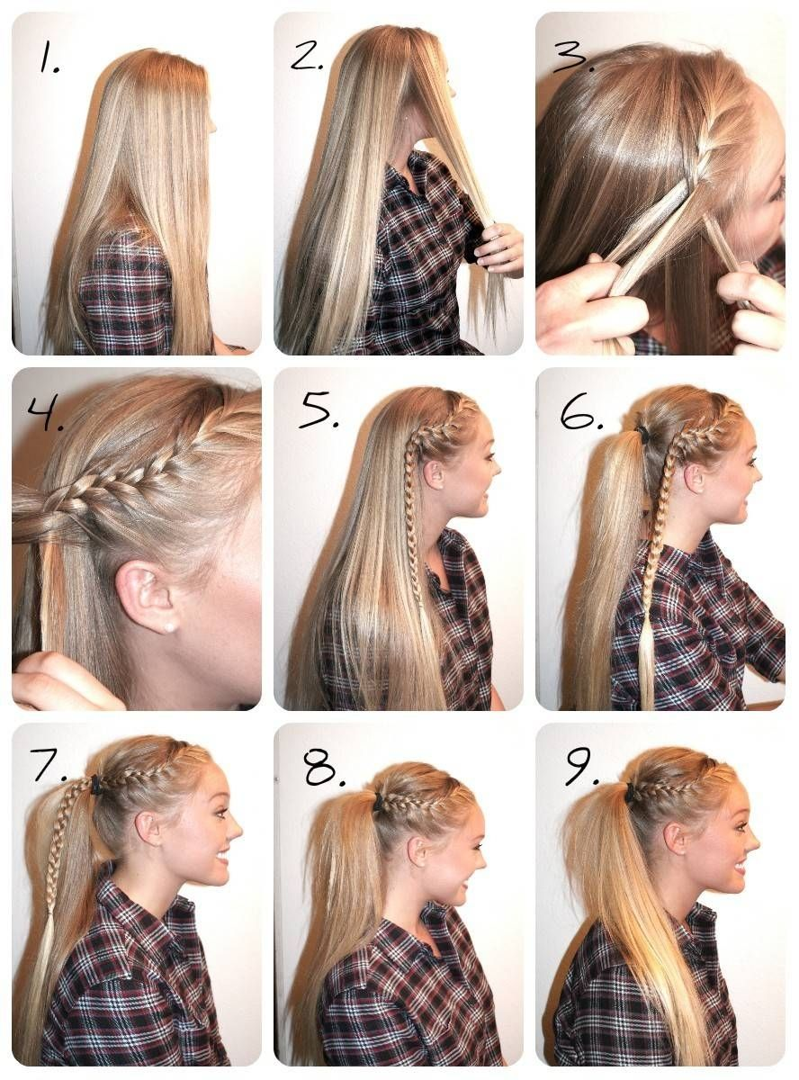 Best Cute Ways To Style Your Hair  Sporty hairstyles, Volleyball