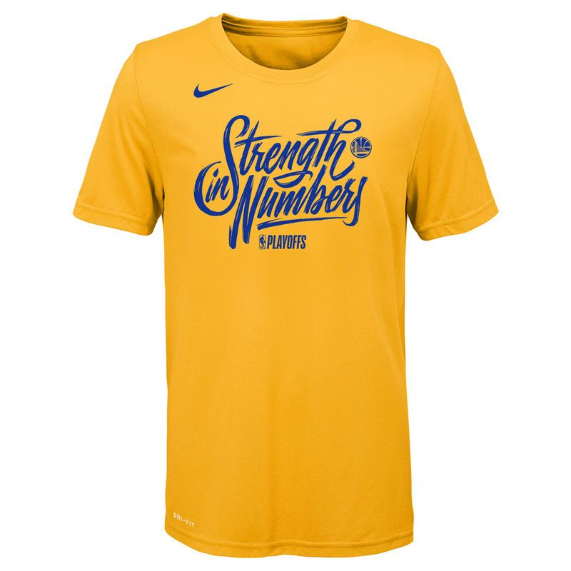 Golden state warriors nike youth nba playoffs mantra