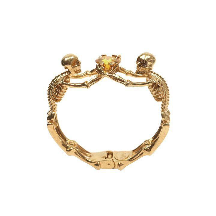 ALEXANDER MCQUEEN   Bijoux   Bracelet Femme   Crânes   Pinterest ... 4d6c5bd4858