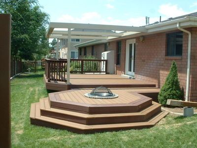 Pin By Alys Mansfield On Backyard Ideas Deck Fire Pit Fire Pit Plans Natural Gas Fire Pit