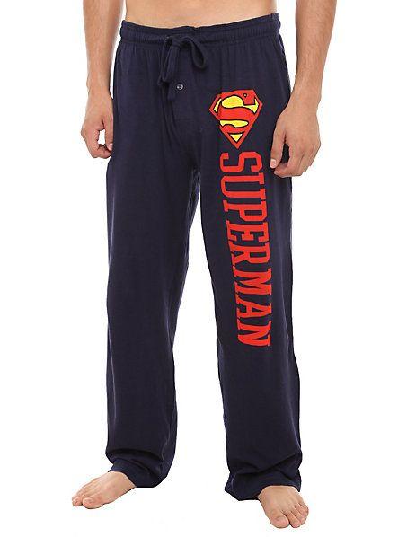 DC Comics Superman Logo Men's Pajama Pants $19.50 #topseller ...