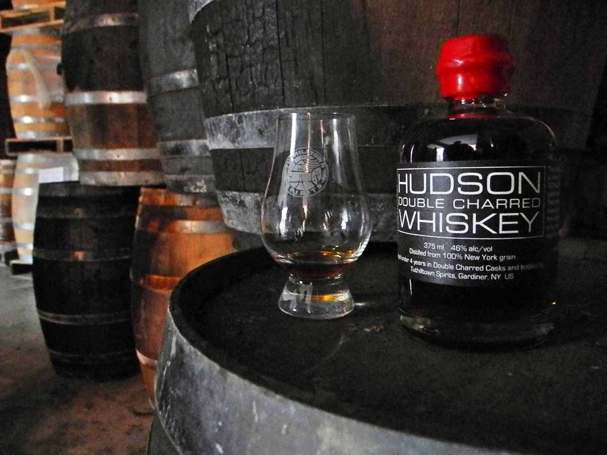 From the Ashes Hudson Double Charred Whiskey Whiskey