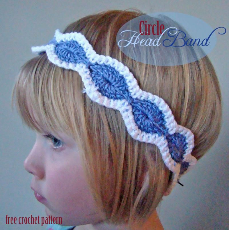 Circle Head Band Free Pattern The Yarn Box Crochet Patterns