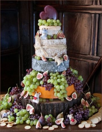 Cheese Wedding Cake Love The Mice Couture Wedding Cakes For