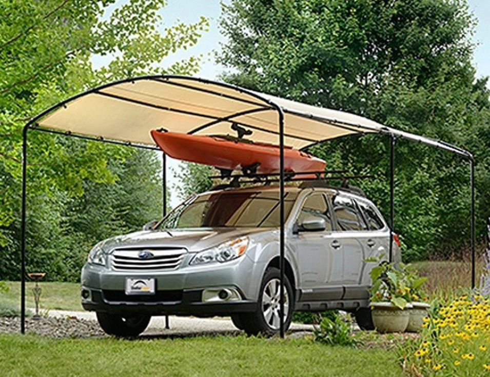 Car Canopy Shed Storage Outdoor Portable Garden Building