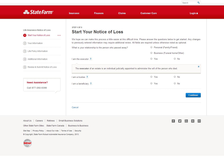 State Farm HttpsWwwStatefarmCom  December  Online