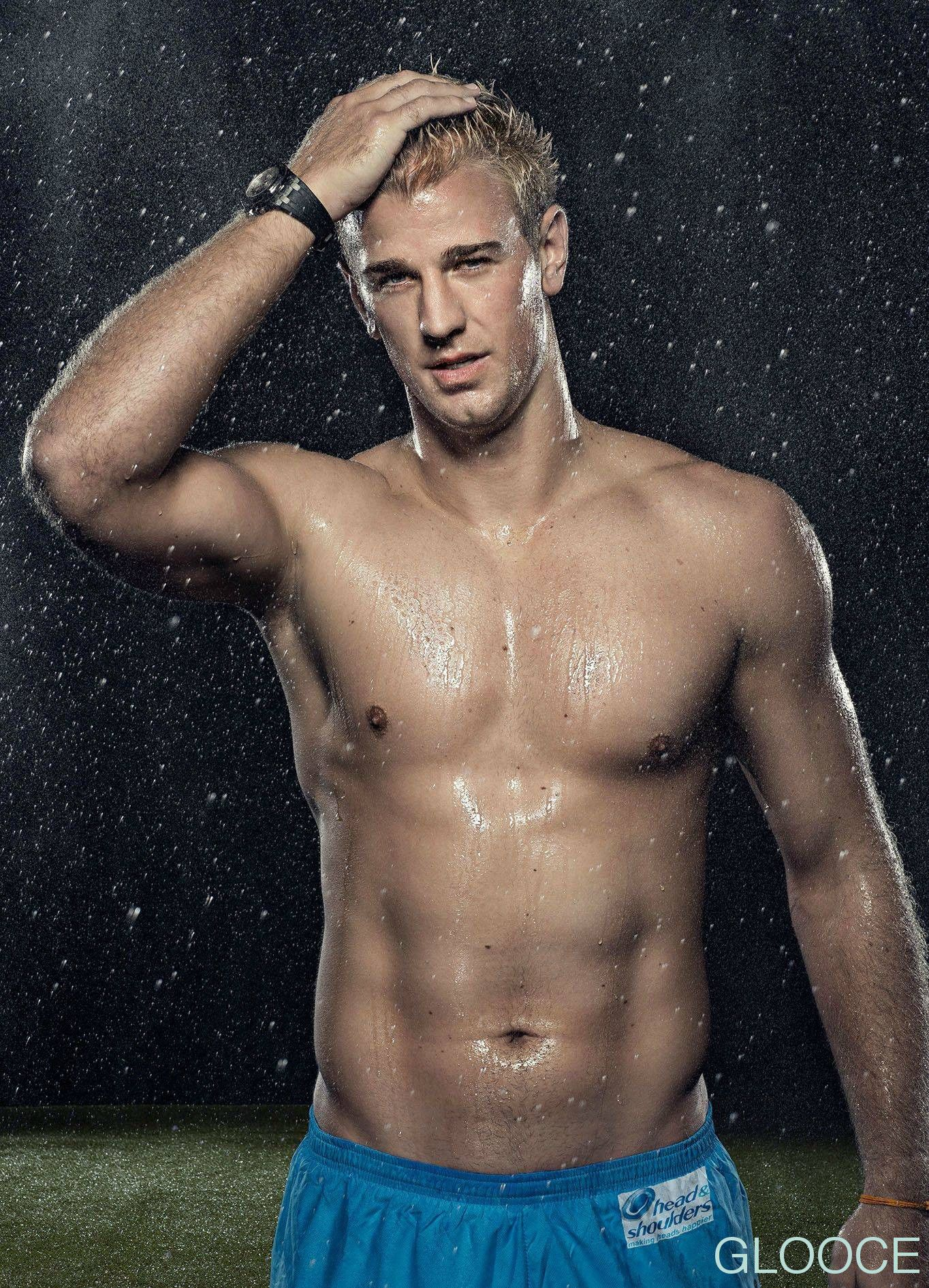 Joe Hart is not the only one ting wet