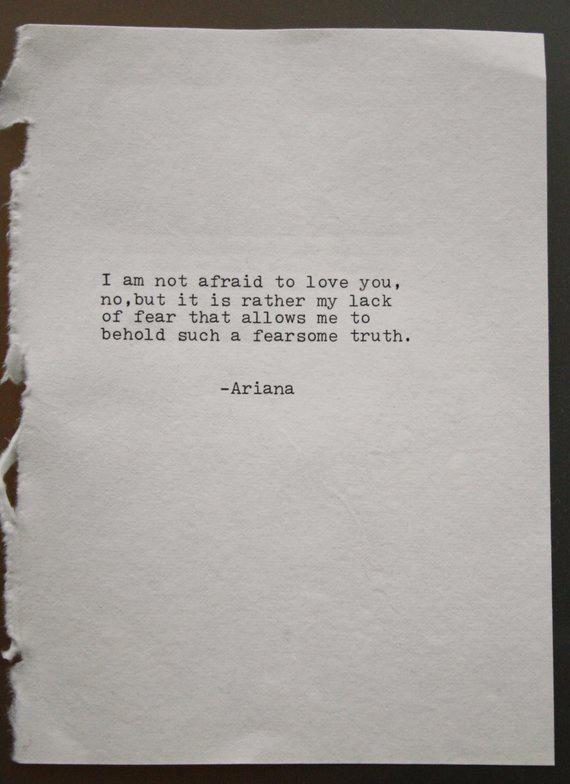 love poetry original poem typography print typographic art wedding vows home decor wall art love let #lovequotes