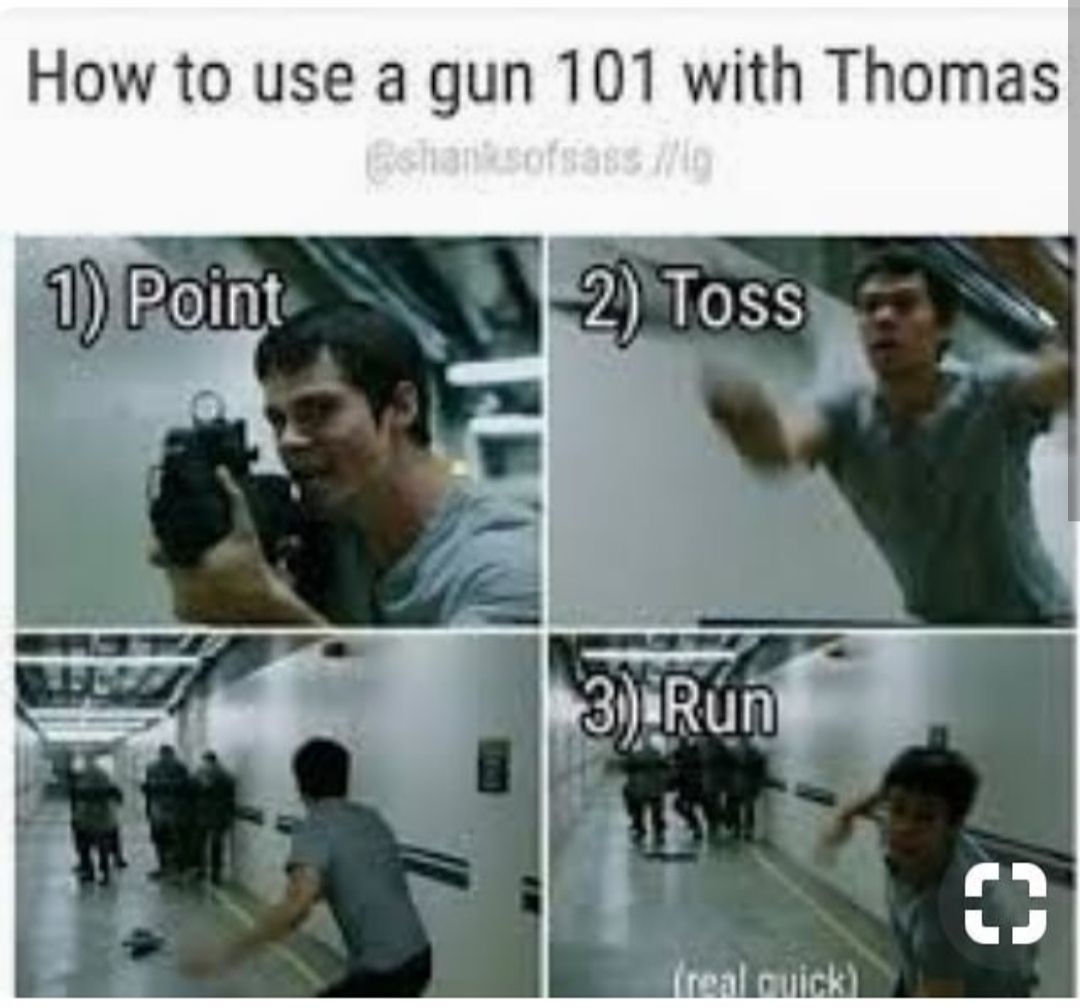 100 random things about Maze Runner – 53. How to use