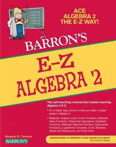 Barron's E-Z Algebra 2 | ALL mine!!!!!! CLAIMING THIS PCH