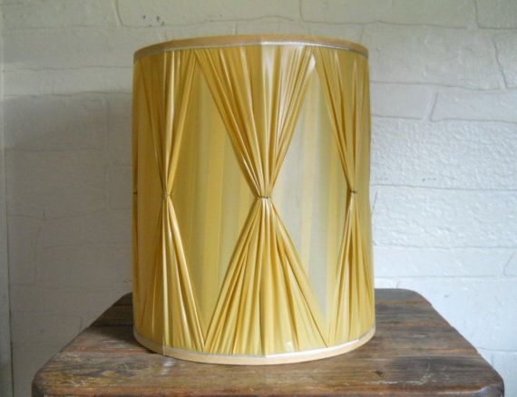 Mid Century Lamp Shades Pleasing Mid Century Lampshade Drum Lamp Shade Large Hollywood Regency Decorating Inspiration