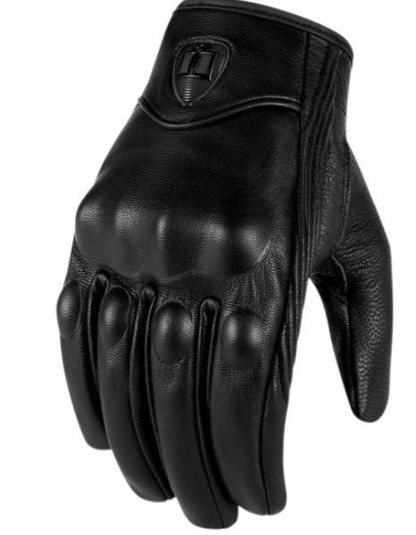 Icon Pursuit Touchscreen Gloves, understated biker style. #MOBstyle