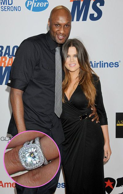 Khloe Kardashian 850000 125carat radiant cut diamond from